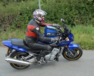 rider on bike