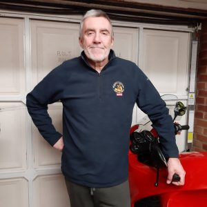 Micro fleece for wearing under motorcycle jacket for extra warmth