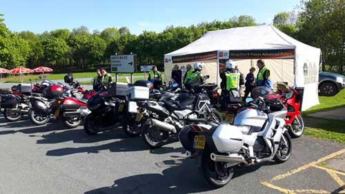 SaPAR Assessment day at Montford bridge picnic area