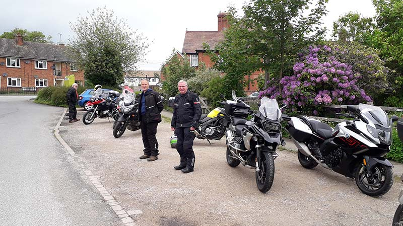 Riders at Craven Arms Discovery Centre