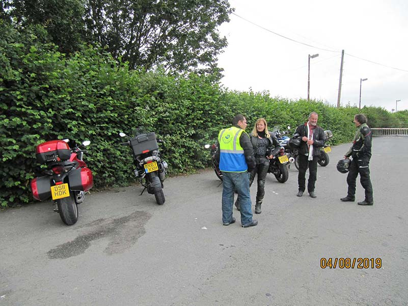 sapar riders at crossgates cafe