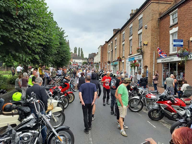 view at broseley bike show
