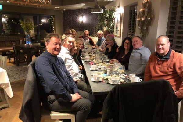 Bill Croxon and friends