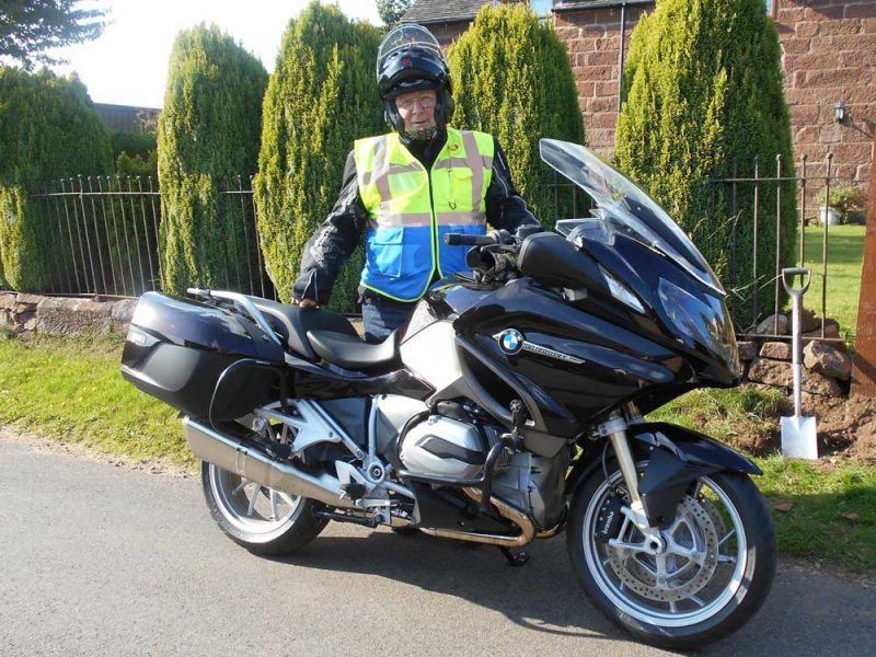 Glyn with new BMW