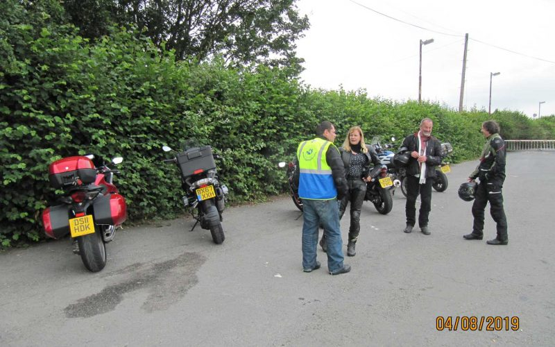 August 2019 rideout to Broseley