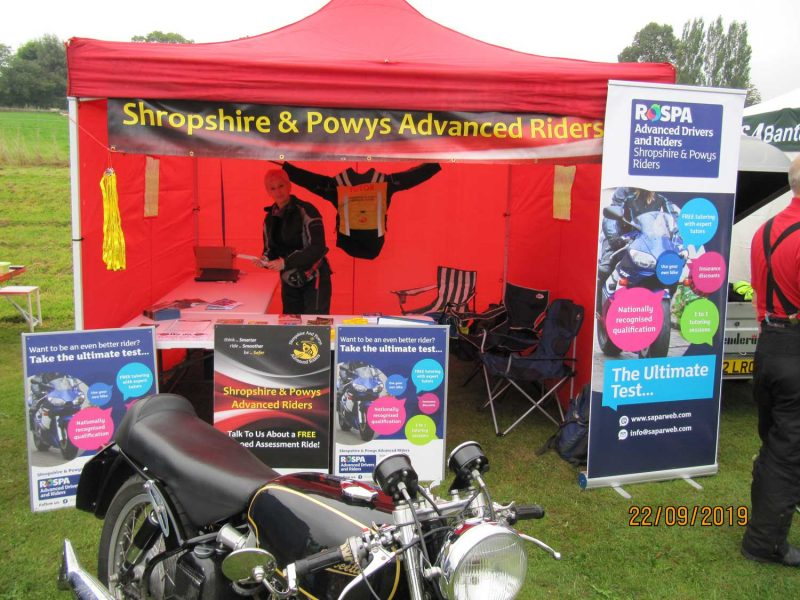 Forden Vintage and Classic Motorcycle show 2019