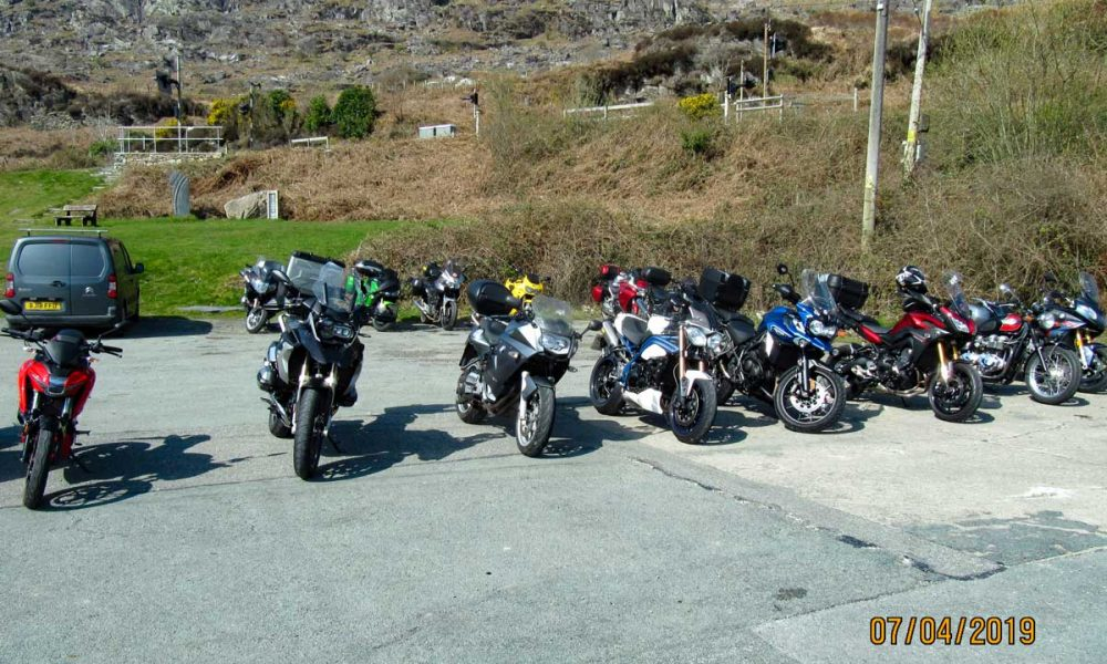 Bikes at Tanygrisaiu cafe