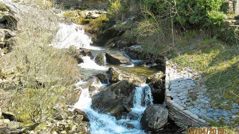 waterfall at Tanygrisaiu