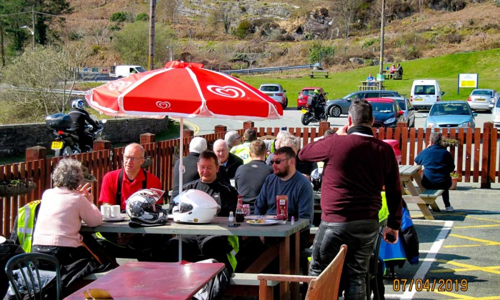 lunch at Tanygrisaiu
