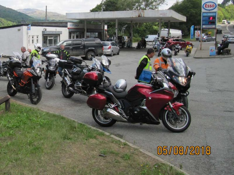 Fuel stop August 2018