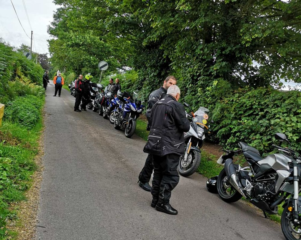 Waiting at Lockley Wood for the hearse
