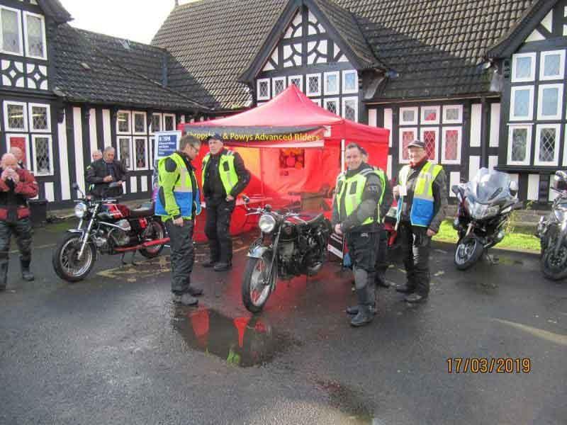 SAPAR at Wistanstow bike show
